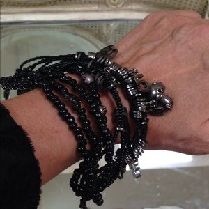 CHANEL Jewelry - Chanel beaded cool bracelet